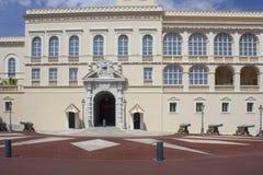 Il Palace di principe del Monaco, architettura immagini stock