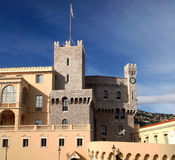 Il Palace di principe, Monaco Fotografia Stock