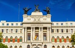 Il Palacio de Fomento, Ministero di agricoltura Madrid - in Spagna Immagine Stock Libera da Diritti