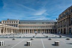 Il Palais Royal a Parigi Immagine Stock