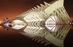 Il Palau delle scienze Fotografia Stock Libera da Diritti