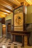 Il Palau Guell - Barcellona - la Spagna Fotografia Stock