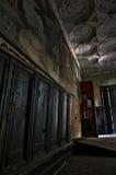 Il palazzo abbandonato Fotografia Stock