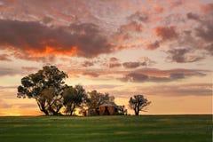 Il palazzo, casa in cui nessuno vive - entroterra Australia Fotografia Stock Libera da Diritti