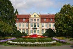 Il palazzo degli abbot in Oliwa Immagine Stock Libera da Diritti