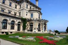 Il palazzo degli interruttori su punto ocraceo a Newport, Rhode Island fotografia stock