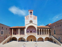 Il palazzo dei re di Maiorca a Perpignano, Francia Fotografia Stock Libera da Diritti