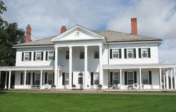 Il palazzo dei Tenente-governatori: Charlottetown, P E I Fotografia Stock