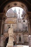 Il palazzo del Doge a Venezia fotografia stock libera da diritti