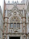 Il palazzo del Doge a Venezia immagini stock