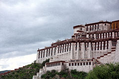 Il Palazzo del Potala Immagini Stock