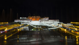 Il Palazzo del Potala a Lhasa, Tibet Fotografia Stock Libera da Diritti