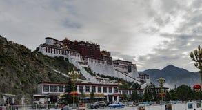 Il Palazzo del Potala a Lhasa, Tibet Fotografia Stock