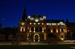 Il palazzo del vescovato del cattolico greco in Oradea, Romania Fotografia Stock Libera da Diritti