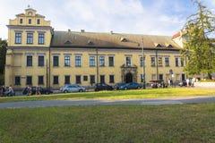 Il palazzo del vescovo a Cracovia Fotografie Stock Libere da Diritti