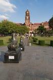 Il palazzo dell'alta corte di Rangoon, Myanmar Immagine Stock Libera da Diritti