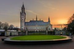 Il Palazzo della Pace a L'aia, fotografie stock libere da diritti