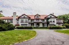 Il palazzo della proprietà di Longview immagini stock libere da diritti