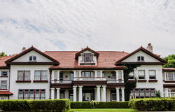 Il palazzo della proprietà di Longview fotografie stock
