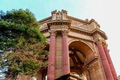 Il palazzo delle belle arti in San Francisco California Fotografia Stock