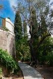 Il palazzo di Achilleion, Corfù, Grecia immagini stock libere da diritti
