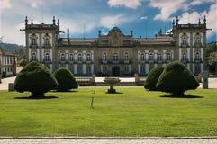 Il palazzo di Brejoeira Immagine Stock