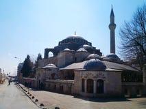 Il palazzo di Dolmabahce a Costantinopoli, Turchia 30 marzo 2018: Il Gu immagini stock libere da diritti