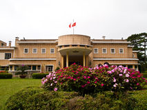 Il palazzo di estate Bao Dai in Dalat, Vietnam fotografie stock