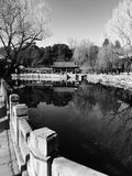 Il palazzo di estate a Pechino Cina Fotografia Stock Libera da Diritti