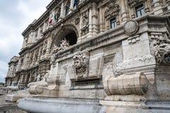 Il Palazzo di giustizia, l'alta corte dell'Italia a Roma Italia Fotografia Stock