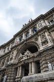 Il Palazzo di giustizia, l'alta corte dell'Italia a Roma Italia Immagini Stock