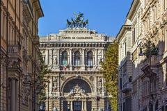 Il palazzo di giustizia, Roma Fotografie Stock Libere da Diritti