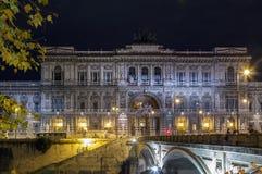 Il palazzo di giustizia, Roma Fotografia Stock