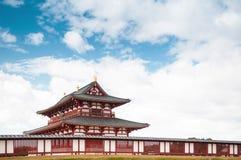 Il palazzo di Heijo rimane, Nara, Giappone Immagini Stock Libere da Diritti