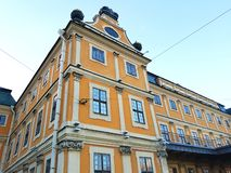 Il palazzo di Menshikov fotografia stock