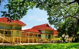 Il palazzo di Mrigadayavan, Cha-sono, la Tailandia Immagine Stock