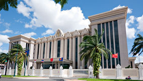 Il palazzo di pace a Phnom Penh, Cambogia Fotografia Stock