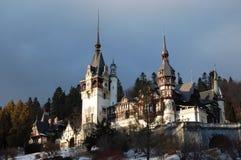 Il palazzo di Peles. La Romania. Fotografia Stock Libera da Diritti