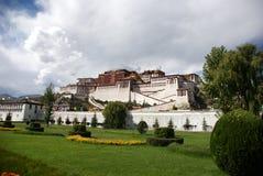 Il palazzo di Potala Fotografia Stock Libera da Diritti