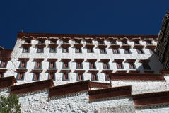 Il palazzo di Potala Fotografie Stock