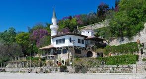 Il palazzo di Queen Mary in Balchik fotografia stock libera da diritti