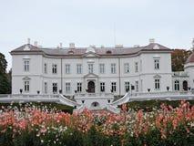 Il palazzo di Tiskeviciai, Lituania Fotografie Stock Libere da Diritti