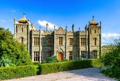 Il palazzo di Vorontsov o il palazzo di Alupka fotografia stock