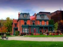Il palazzo/eredità di Deveraux fa il giardinaggio, Salt Lake City immagine stock libera da diritti