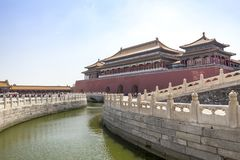 Il palazzo imperiale, Pechino, Cina fotografia stock