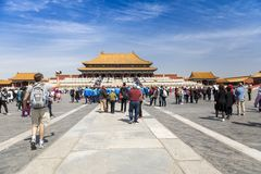 Il palazzo imperiale, Pechino, Cina fotografia stock libera da diritti