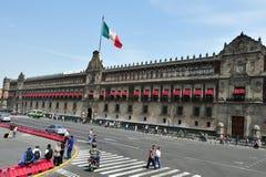 Il palazzo messicano nazionale Fotografia Stock Libera da Diritti