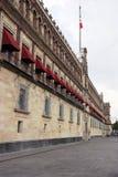 Il palazzo nazionale in Città del Messico Fotografia Stock