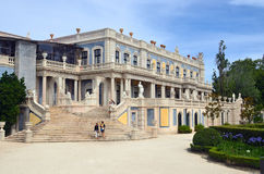 Il palazzo nazionale di Queluz, Portogallo fotografie stock