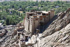 Il palazzo nella città di Leh, Ladakh, India Immagini Stock
